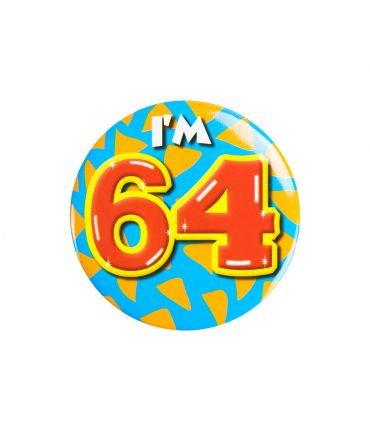 Button klein - i'm 64