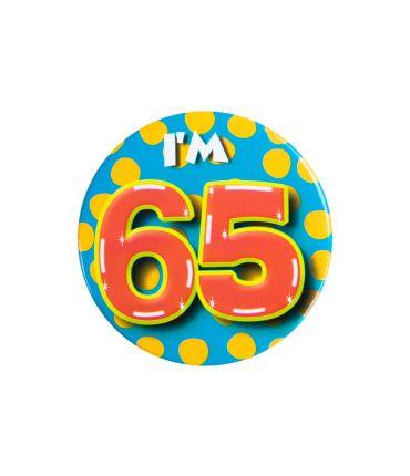Button klein - i'm 65