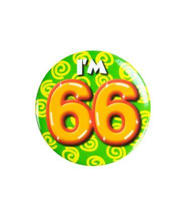 Button klein - i'm 66