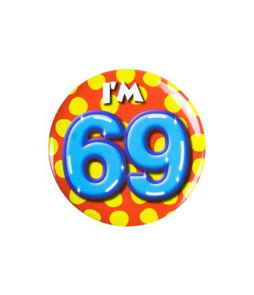 Button klein - i'm 69