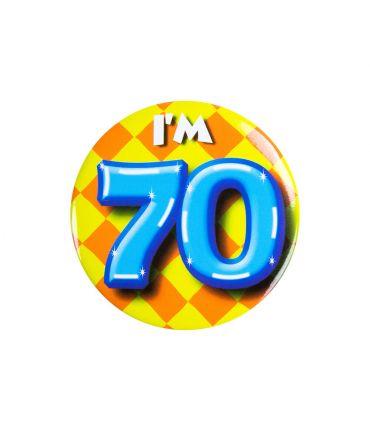 Button klein - i'm 70