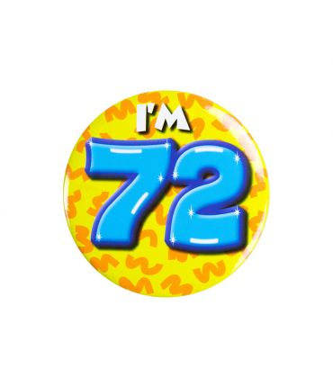 Button klein - i'm 72