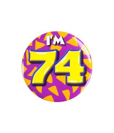 Button klein - i'm 74
