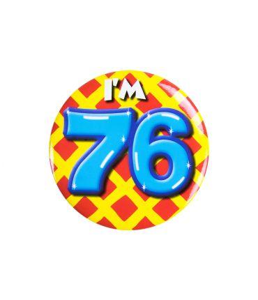 Button klein - i'm 76