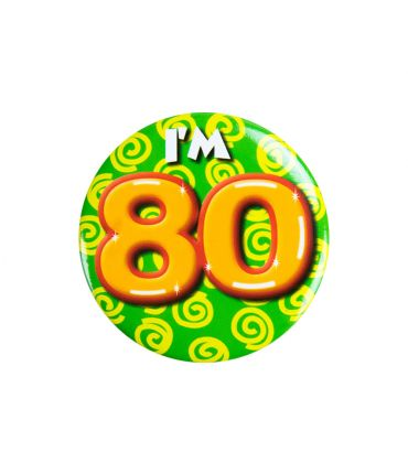 Button klein - i'm 80