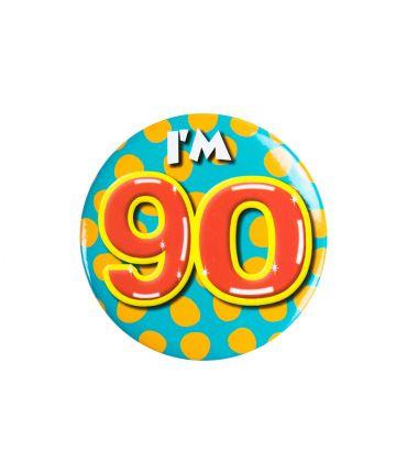 Button klein - i'm 90