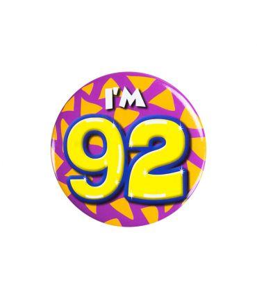 Button klein - i'm 92