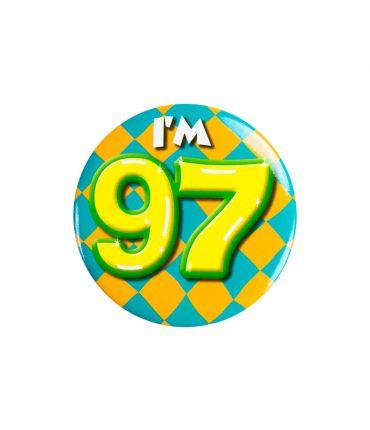 Button klein - i'm 97