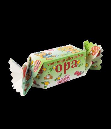 Kado/Snoepverpakking Beer - Opa