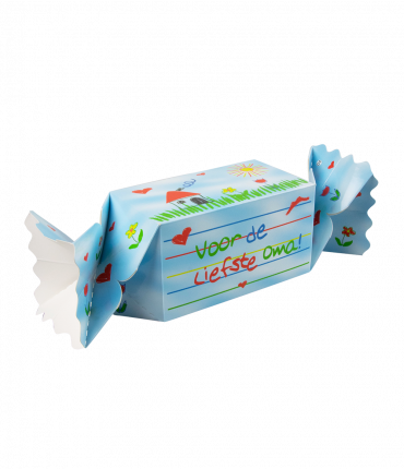 Kado/Snoepverpakking Kids - Oma