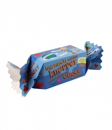 Kado/Snoepverpakking nieuw - Mannen knapper