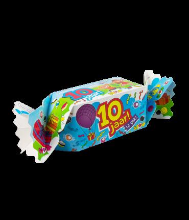 Kado/Snoepverpakking Fun - 10 jaar