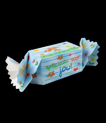 Kado/Snoepverpakking Kids - Voor jou