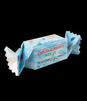 Kado/Snoepverpakking Kids - Zwemdiploma