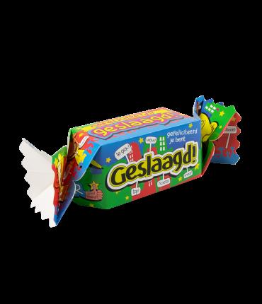 Kado/Snoepverpakking Nieuw - Geslaagd