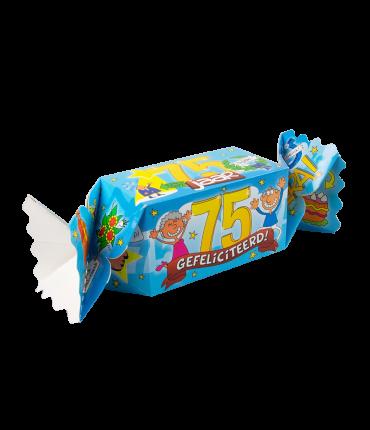 Kado/Snoepverpakking Fun - 75 jaar