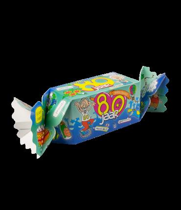 Kado/Snoepverpakking Fun - 80 jaar