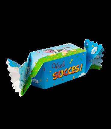 Kado/Snoepverpakking Koe - Veel succes