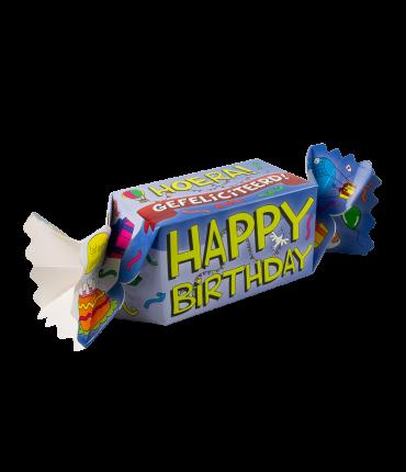 Kado/Snoepverpakking Nieuw - Happy birthday