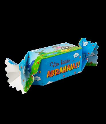 Kado/Snoepverpakking Koe - Abraham