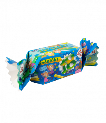 Kado/Snoepverpakking Fun - 18 jaar