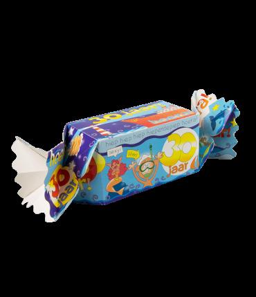 Kado/Snoepverpakking Fun - 30 jaar