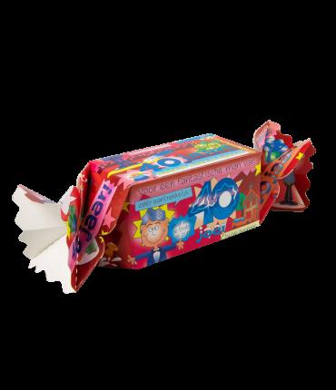 Kado/Snoepverpakking Fun - 40 jaar man