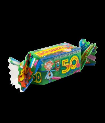 Kado/Snoepverpakking Fun - 50 jaar man