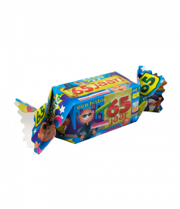 Kado/Snoepverpakking Fun - 65 jaar
