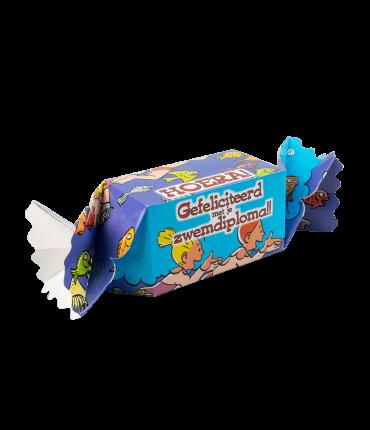 Kado/Snoepverpakking Feest - Zwemdiploma