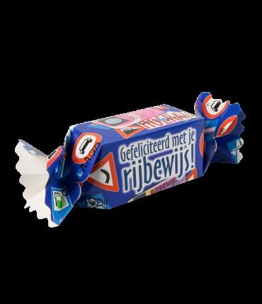 Kado/Snoepverpakking Feest - Rijbewijs