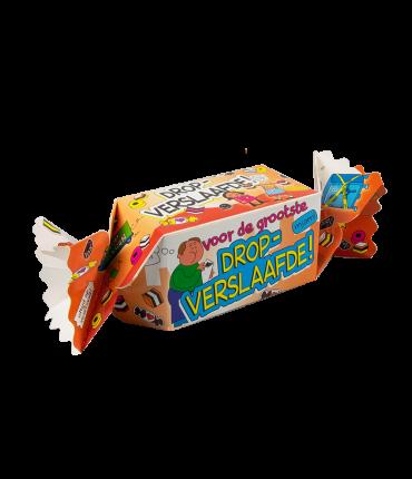 Kado/Snoepverpakking Fun - Dropverslaafde