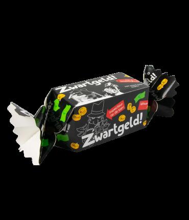 Kado/Snoepverpakking Fun - Zwart Geld