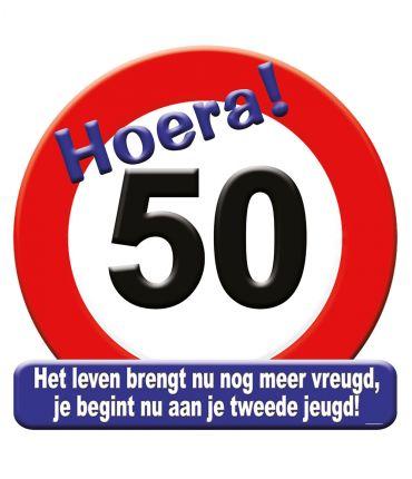 Huldeschild - 50 jaar