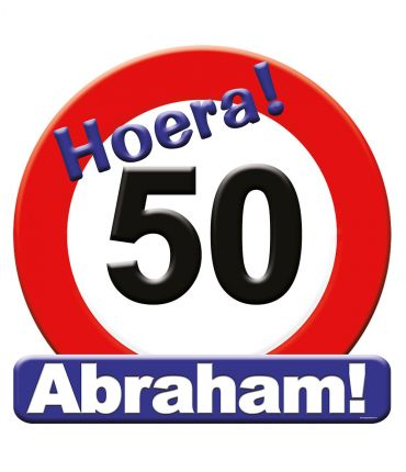 Huldeschild - 50 jaar Abraham