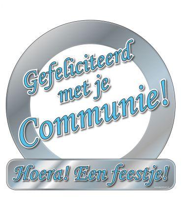 Huldeschild - Communie