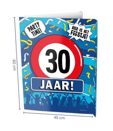 Window signs - 30 jaar