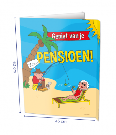 Window signs - Pensioen