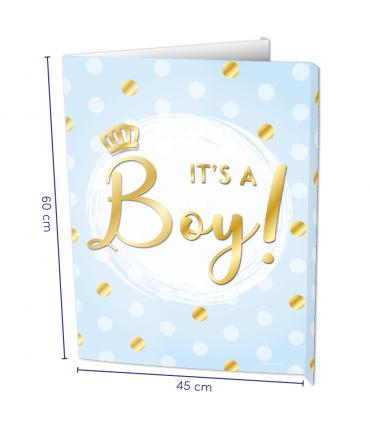 Window signs - It's a boy!