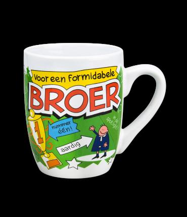 Cartoonmok Broer