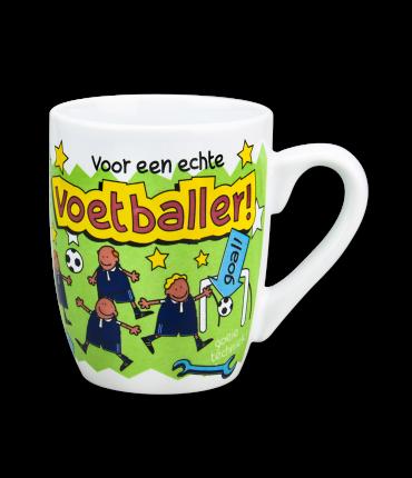 Cartoonmok Voetballer