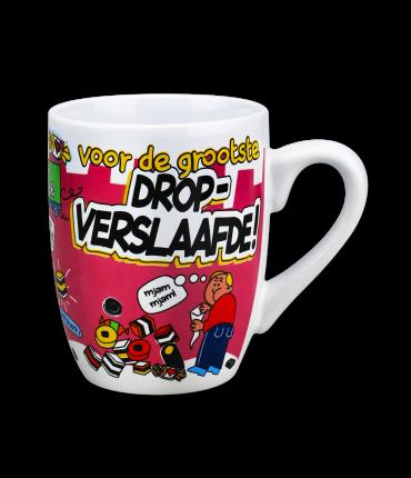 Cartoonmok Drop verslaafde