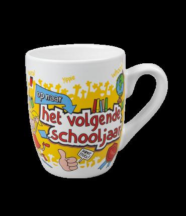 Cartoonmok - Op naar het volgende schooljaar