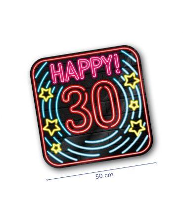 Neon decoration signs - 30 jaar