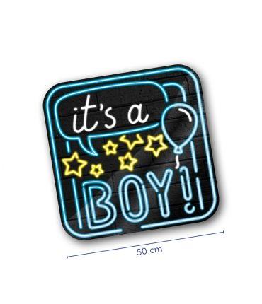 Neon decoration signs - Geboorte Jongen