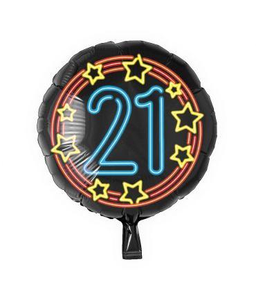 Neon Foil balloon - 21