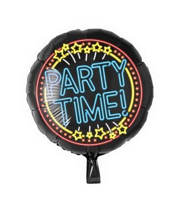 Neon Foil balloon - Party time