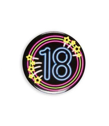 Neon button - 18