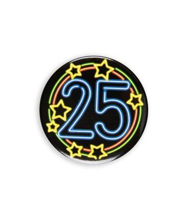 Neon button - 25