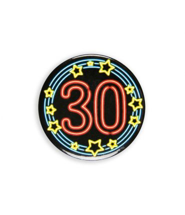 Neon button - 30